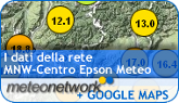 GoogleMAp Meteonetwork