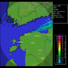 Radar Estonia OFF-LINE