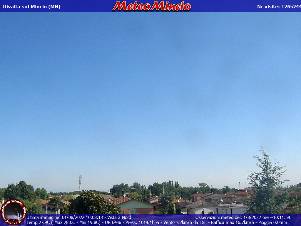 Webcam Meteomincio