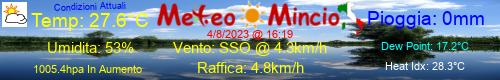 Stazione meteo MeteoMincio - Rivalta sul Mincio, (MN) - Lombardia