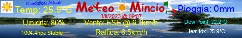 Logo MeteoMincio OFF-LINE